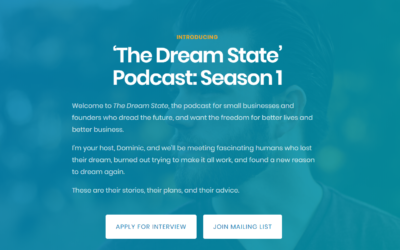 Introducing: 'The Dream State' Podcast