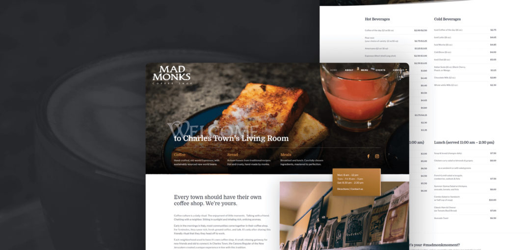 Mad Monks Coffee Shop