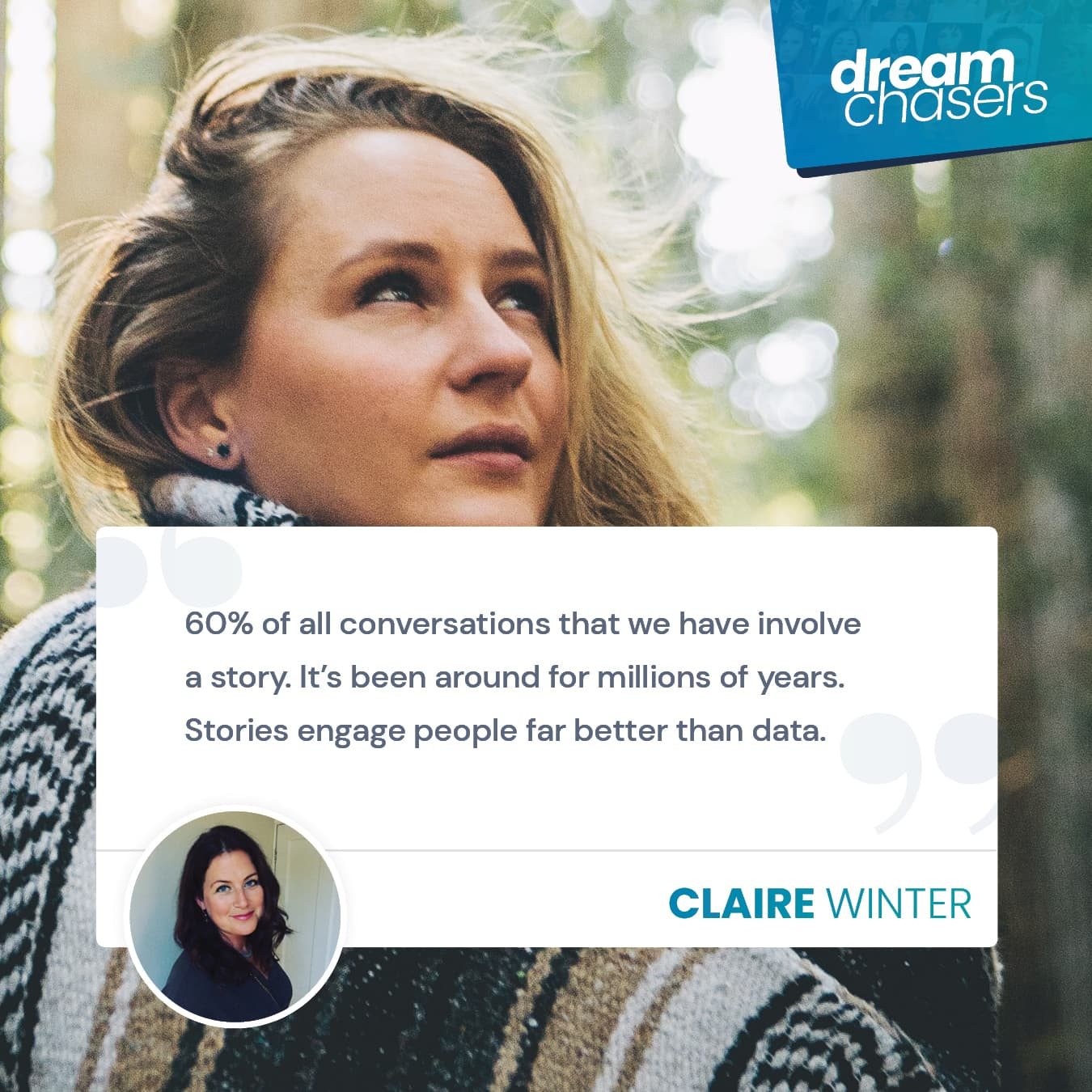 Why storytelling must be a part of your brand - with Claire Winter