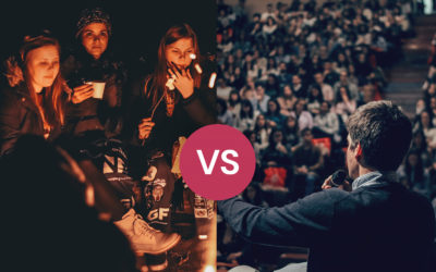 Fireside vs stageside: what storytelling is… and isn't
