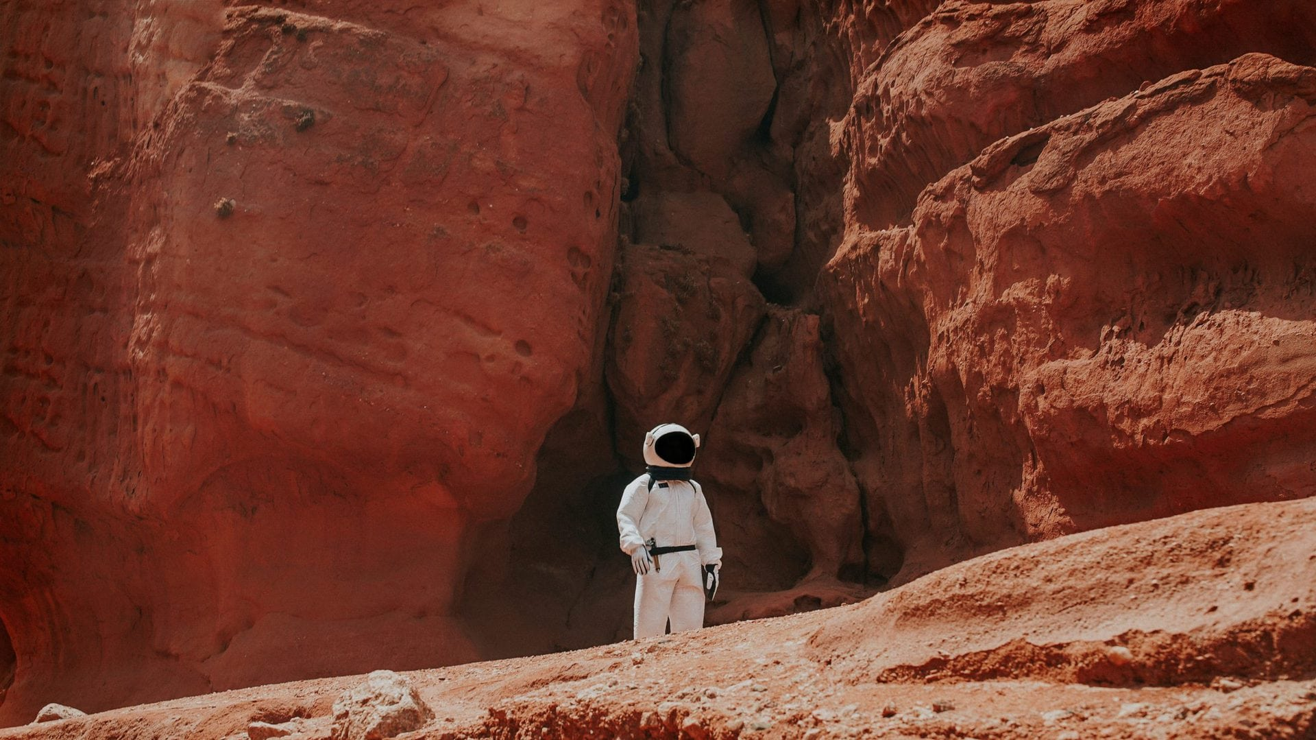 Why our future is not on Mars - as much I'm psyched to go there